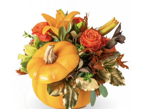 How to Use Pumpkins, Flowers, and Fall Decor For Halloween