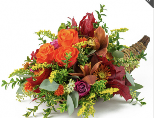Decorate Your Home for the Thanksgiving Holidays with Centerpieces and Flowers